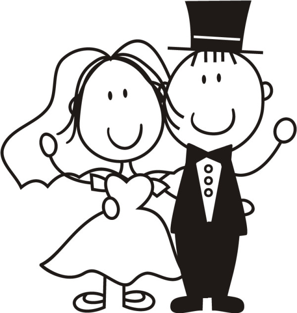 bride-and-groom-cartoon-101202